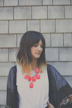 let's clarify that I do not love this ombre, but the length of the long bob is tempting...