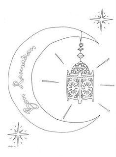 Ramadan Free Printable Coloring Page