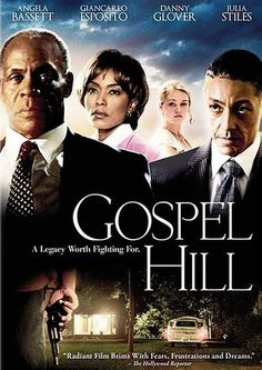 Gospel Hill (2008)   http://www.getgrandmovies.top/movies/29410-gospel-hill   Gospel Hill tells the intersecting story of two men in the fictional South Carolina town of Julia. Danny Glover plays John Malcolm, the son of a slain civil rights activist. Jack Herrod (Tom Bower) is the former sheriff who never got to the bottom of the murder. Their paths begin to cross when a development corporation comes to town with plans to raze Julia's historic Gospel Hill.