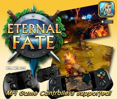 """Eternal Fate"" FREE RPG, great controls & graphics! Click pic to link direct to iTunes"