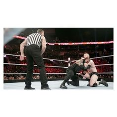 Roman Reigns vs. Sheamus – WWE World Heavyweight Championship Match... ❤ liked on Polyvore featuring home, home decor and wwe