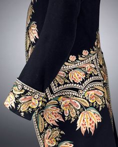 Coat, France c. 1810 wool, silk, wood 105.8 cm (centre back), 70.5 cm (sleeve length) National Gallery of Victoria, Melbourne