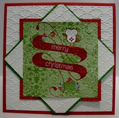 Stampin For Me: Christmas in July with Snow Festival DSP
