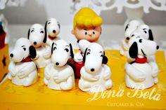 Dona Beta: A turma do Snoopy: 1º aniversário do Kauã