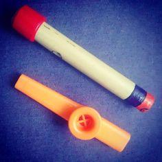 Kazoo de caña o plástico
