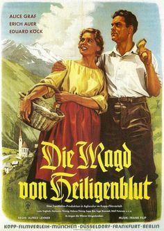 Poster zum Film: Die Magd von Heiligenblut. 1956