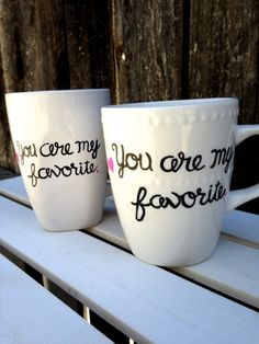 23. Hand #Painted Mug - 29 Christmas #Gifts for Best Friends ... → #Lifestyle #Stamped