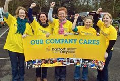 Show your company cares by signing up at www.cancer.ie/ourcompanycares. Daffodil Day takes place on Friday March 22nd Daffodil Day, Ooty, Daffodils, Cancer, March, Friday, Mac