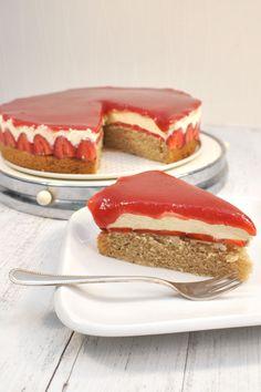 Erdbeertorte wie Solero-Torte