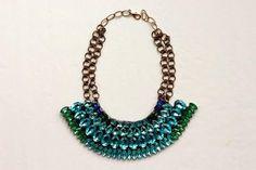 DIY Necklace  : DIY Dannijo-inspired statement necklace