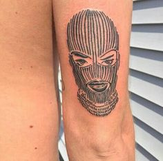 Balaclava tattoo