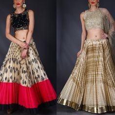 asthanarang with a perfect collection for the wedding season! Indian Skirt, Indian Dresses, Indian Outfits, Indian Attire, Indian Wear, Indian Style, Traditional Fashion, Traditional Dresses, Ethnic Fashion