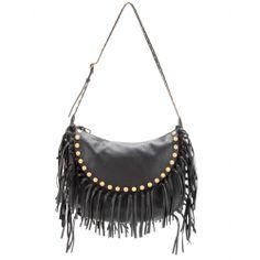 mytheresa.com , Besace en cuir à franges C,Rockee , sacs à bandoulière