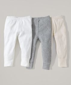 This Cloud & Storm Organic Tapered Pant Set - Infant & Toddler by Burt's Bees Baby is perfect! #zulilyfinds