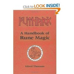 Runes are the ancient Norse alphabet used for communication, divination, and magical work. In Futhark, American runologist Edred Thorsson introduces readers to the 24 runes of the Elder Futhark, their definitions, and mystic properties.