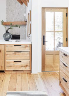Before & After: Our Scandinavian-Inspired Mountain House Kitchen Remodel Emily Henderson Mountain House Scandinavian kitchen Home Design, Interior Design, Home Window Replacement, Kitchen Design, Kitchen Decor, Organizing Hacks, My New Room, Home Decor Inspiration, Home Kitchens