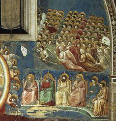 Giotto di Bondone ~ Last Judgement (detail), Cappella Scrovegni, Padua, 1306
