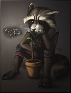 rocket raccoon guardians of the galaxy - Buscar con Google
