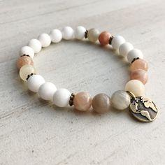 Beaded bracelet for girlfriend Jewelry for world traveler Wanderlust Bracelet Traveler gift for women World map bracelet by TreasureYourselfShop on Etsy
