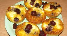 Túrós meggyes muffin - Süss Velem Receptek Blueberry Scones, Vegan Blueberry, Canned Blueberries, Vegan Scones, Gluten Free Flour Mix, Scones Ingredients, Vegan Butter, Muffin Recipes, Fudge