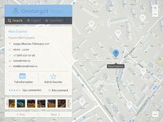GIS UI by Alexey Izotov http://dribbble.com/shots/1399861-GIS-UI
