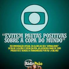 Prof° Paulo Roberto: O MUNDO DESCOBRE AS MENTIRAS DA GLOBO SOBRE A COPA...