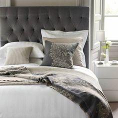Couleur de chambre 100 id es de bonnes nuits de sommeil for Decoration murale tete de lit