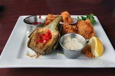 Deep-Fried Artichoke Hearts and more recipes