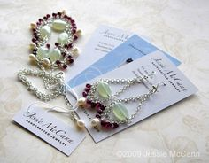 Great tips for jewelry makers - I wish I knew this before I ordered my business card...