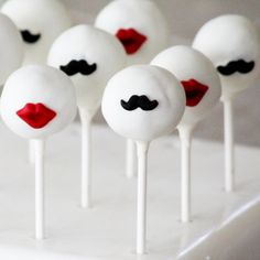His & Hers cake pops