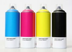 """""""In the line of the variations around #Pantone, a personal project carried out by artist Nico189. Baptized """"PANTONECANS®"""", An object which is not intended to become a commercial product."""""""