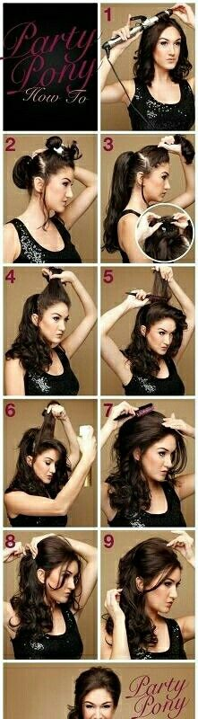 Curly Hair Tutorial!