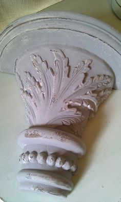 villabarnes: Gesso Magic: Using Gesso to achieve a rough plaster look, or sanded back for smooth old world look.