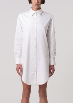 white shirt dress | fashion - white & neutrals | Pinterest ...