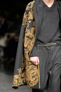 Dolce & Gabbana Fall 2012-- beautiful workmanship