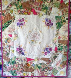 vintage-fabric-and-linen-patchwork-quilt