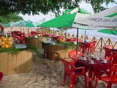 Café da manha na praia