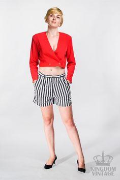 short jacket in red od Kingdom of Vintage