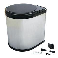 Knape & Vogt - Trash Master Waste - TM-13-R-C - Home Depot Canada 12 L - $54.86
