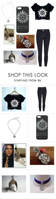 """""""Supernatural 2.0"""" by chloe950 ❤ liked on Polyvore featuring River Island and Hot Topic"""