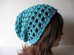 Slacker Beanie in Teal  $25.00