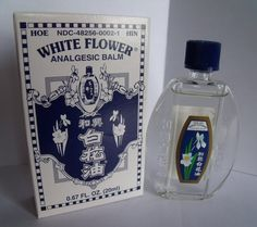 White Flower Analgesic Balm Oil Small Best Chinese Medicines