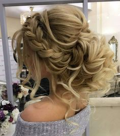 long hair models - wedding hairstyles for long hair are very numerous, which makes it not so easy . - About women - long hair models – wedding hairstyles for long hair are very numerous, which makes it not so easy - Homecoming Hairstyles, Wedding Hairstyles For Long Hair, Wedding Hair And Makeup, Cool Hairstyles, Hair Makeup, Hairstyle Wedding, Easy Hairstyle, Hairstyle Ideas, Bridesmaids Hairstyles