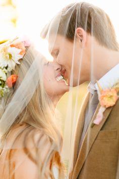 Photography: Haley Rynn Ringo - haleyringo.com Floral Design: Charming Events - www.facebook.com/CharmingEventsCompany Wedding Dress: Watters- Norma - watters.com