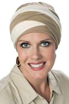 Braided Becky Cotton Turban - Hats for Cancer Patients, Cancer Turbans