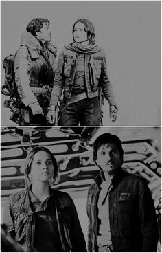 Cassian and Jyn   Star Wars   Rogue One   RebelCaptain