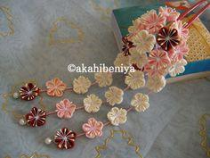 小梅の花かんざし