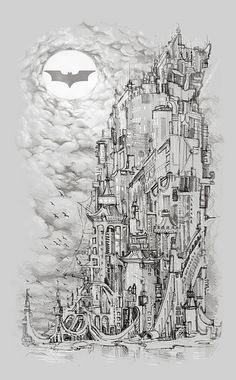 I am Gotham by Tolagunestro, via Flickr