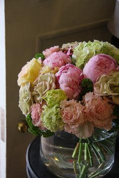 peony,rose and eustoma