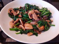 COMIDA DIA 18/02/2021 Stir Fry, Spinach, Food, Recipes